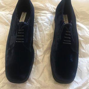 Donald j pliner women's velvet shoes sz 10
